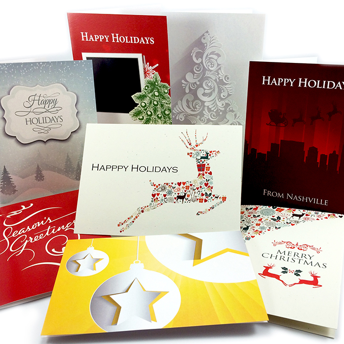 Digital printing and custom holiday cards by Jive! printers